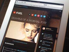 Fuel - Single Post / iPad
