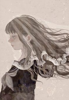 セーラー服の花嫁 by 楠 | CREATORS BANK http://creatorsbank.com/kusunoki_3/works/296155