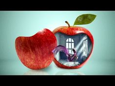 Object Photo Manipulation [Apple, Model and Empty Room] in Photoshop - YouTube