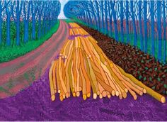 David Hockney - 'Spilt Milk'