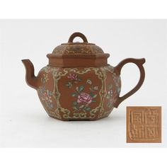 A chinese yixing red stoneware teapot and cover. Yixing Teapot, Glass Furniture, Japanese Painting, Wallis, Tribal Art, Teacups, Asian Art, Utensils, Cup And Saucer