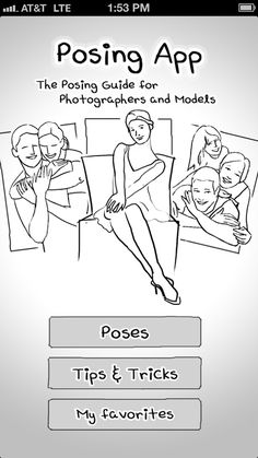 Posing App for photographers