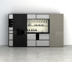 CUbox Cod. 10017 by do+ce   Wall storage systems