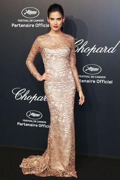 Cannes Film Festival 2015 | Sara Sampaio in Blumarine