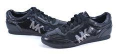 Michael Kors Black Sequins Shoes