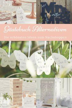 Die schönsten Gästebücher Alternativen für eure Hochzeit von van harte