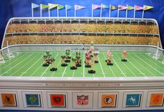 1961 Gotham NFL G-1500 Electric Football Game.