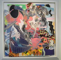 Post Painterly Abstraction, Abstract Art, Frank Stella Art, Collage Art, Collage Ideas, Nyc Art, Art Fair, Art Studios, Art Drawings