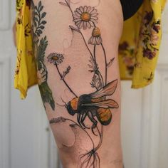 Illustrations of a Harmonious Nature: Interview with Joanna Świrska - body art Dream Tattoos, Love Tattoos, Sexy Tattoos, Body Art Tattoos, Ink Tattoos, Tatuajes Tattoos, Tatoos, Pretty Tattoos, Beautiful Tattoos