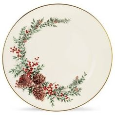My Christmas china, Lenox, Boxwood and Pine