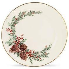 My Christmas china, Lenox, Boxwood and Pine