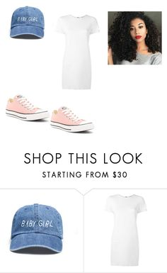 """""""💦👅🍑"""" by asiaa74 on Polyvore featuring Helmut Lang and Converse"""