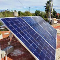 Instalación Panel Solar 330W 24V Talesun Policristalino Bombeo Solar, Kit Solar, Solar Water, Solar Energy Panels, Best Solar Panels, Alternative Energie, Roof Decoration, Water Heating Systems, Solar Projects