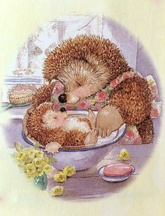 I love Hedgehogs💞 cute illustrations - Country Companions Hedgehog Art, Cute Hedgehog, Illustrator, Dibujos Cute, Woodland Creatures, Penny Black, Cute Characters, Children's Book Illustration, Whimsical Art
