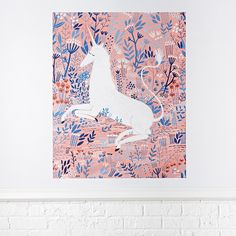 Wall_Art_Poster_Decal_Unicorn
