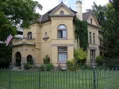 Knight Mansion, Provo, Utah I live on e same block 1976-1979, while my husband was a BYU Law student. The apartment we lived in has long since been razed, now occupied by the govt. building .  Melnee