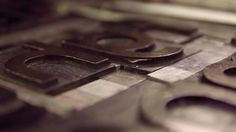 Let's Press by Strawberry Militia. A video about Letterpress