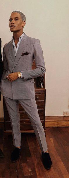 Sterling Grey, Monochrome, Suits, Fashion, Moda, Monochrome Painting, Fashion Styles, Suit, Wedding Suits