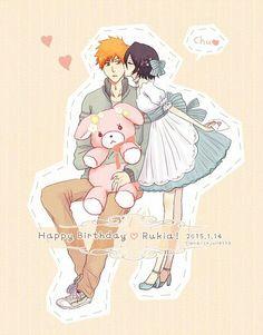 Amo que rukia cumpla el mismo dia que yo ♥ HB Rukia ♡♥♡♥♡