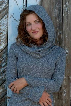 Cozy Hemp Cowl Neck Hoodie Organic Sweater by Advika Clothing, Available on Etsy $90.00 advikaclothing.etsy.com