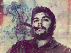 Che guevara! Che Quevara, Graffiti, Hd Wallpaper Android, Fidel Castro, Badass Quotes, Communism, Illustration, Cool Stuff, Portrait