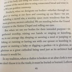 Reading this I just about burst into tears. From Liturgy of the Ordinary by Tish Harrison Warren. @theoriginalchesna