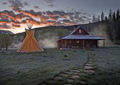 Rustic Spa dreaming!  Hot Springs Resort #JSSpa