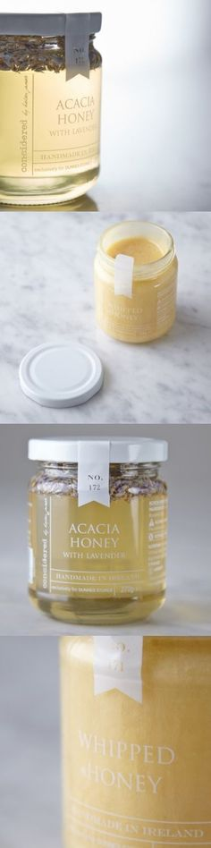 Considered by Helen James Honey exclusively for Dunnes Stores. Packaging design by Nicola Bowman.: