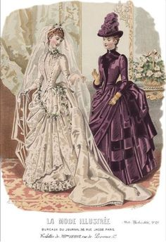 La Mode Illustrée 1886