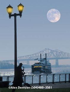 New Orleans, Mississippi river, USA