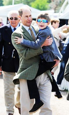 royalwatcher:  The Royal Windsor Horse Show, Windsor Great Park, May 15, 2015-Earl of Wessex and James, Viscount Severn
