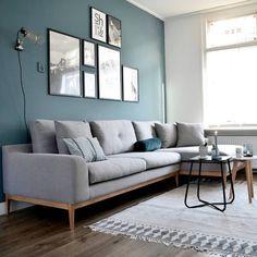 """Van het kastje naar de muur. on Instagram: """"New blogpost online • over onze nieuwe bank van @sofacompanynl ♡ #linkinprofiel #blog #vanhetkastjenaardemuur #sofacompanynl #sofacompany #ednasofa #edna #bank #sofa #couch #fabiostone"""""""