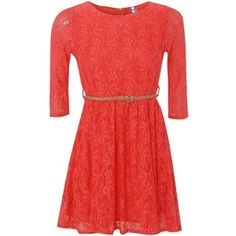 Click here for a bunch of polyvore dresses in coral