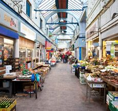 TO FIND: Brixton Market Take you pick from the eclectic independent shops and restaurants muddled together in this undercover market.**