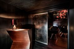 Design Research Studio, Tom Dixon's architectural and interior arm, has unveiled its first ultra-exclusive State-side hospitality project in the form of Himitsu, a cocktail lounge-bar in Atlanta. Tom Dixon, Best Interior, Modern Interior Design, Contemporary Design, Architectural Digest, Restaurant Design, Restaurant Bar, Atlanta Bars, Atlanta Usa