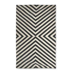 Jonathan Adler Rug. 5x8 $595 so too expensive but great pattern... could do black and white or grey and white