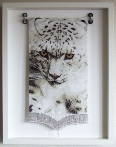 タペストリー額『雪豹Vol.3』