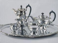 Silver Set by Alan Kingsbury