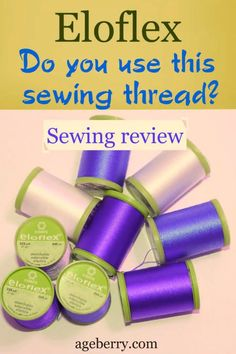 Check out my review of Eloflex thread - a stretchable thread that can be used in a regular sewing machine with just regular straight stitch function. Special stitches (like small zigzag) or a serger are not required to sew knits or stretchy woven fabric with elastane. Just wind the bobbin with Eloflex thread and use the thread both in the needle and the bobbin to sew stretchy fabric. #sewing #sewingreview, #sewingtutorials #sewing101 #eloflex