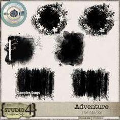 Digital Art :: Element Packs :: Adventure - The Masks, by Designworks Elements Of Art, Site Design, Digital Scrapbooking, Masks, Digital Art, Adventure, Studio, Website Designs, Studios