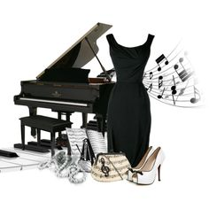 """""""Piano Contest"""" by kimlyns on Polyvore"""