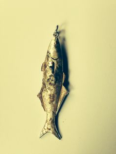Handmade silver fish pendant by Gerika Langenhoven