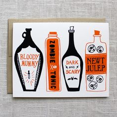 Halloween Collection from Maple and Belmont by Kimberly Munn, via Behance