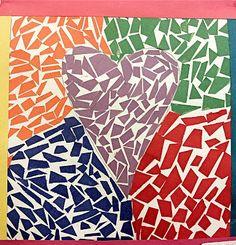 Construction paper mosaics