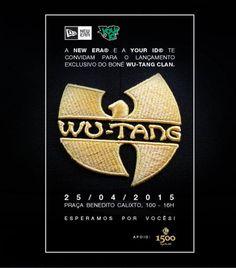A coleção de bonés da New Era em colaboração com o grupo norte-americano Wu-Tang Clan teve sua distribuição expandida e será entregue no mercado brasileiro. Uma das mais esperadas coleções de bonés do...