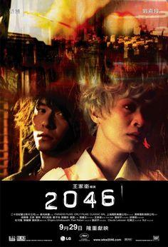 Movie Poster. 2046 by Wong Kar-Wai.