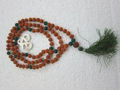 Rudraksha Prayer Mala- Spiritual Yoga Meditation Japamala with Green Jade OM Pendant Mogul Interior,http://www.amazon.com/dp/B00D8XV5XM/ref=cm_sw_r_pi_dp_p.Sesb1P0XP9WG29