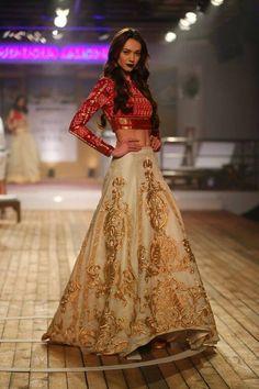 Monisha Jaising's The Sailing Bride hits Amazon Couture Week
