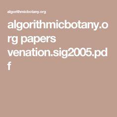 algorithmicbotany.org papers venation.sig2005.pdf