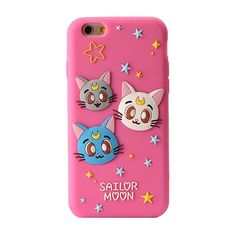 2016 The Newest Fashion 3D Cartoon Japan sailor moons bow cat soft silicone case cover For Iphone 5 5s se/5c/6 6s/6plus 6splus | iPhone Covers Online